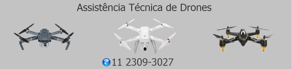 DRONE MANUTENÇÃO