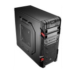 Gabinete Gamer Aerocool GT Black - EN52209 (Sem Fonte)